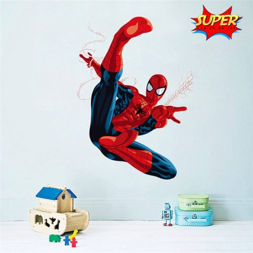 Superhero Decorative Sticker - Spiderman - Super Comics Online