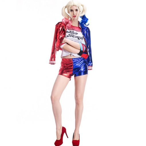 Suicide Squad Harley Quinn Women's Cosplay Costume - Super Comics Online