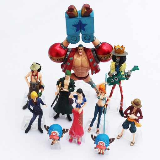 10 Pcs One Piece Action Figures Set - Super Comics Online