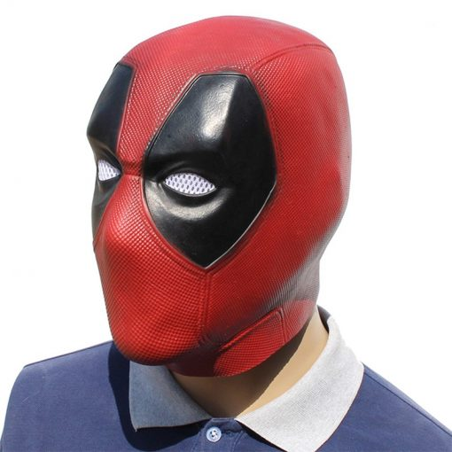 Deadpool Face Cosplay Mask - Super Comics Online